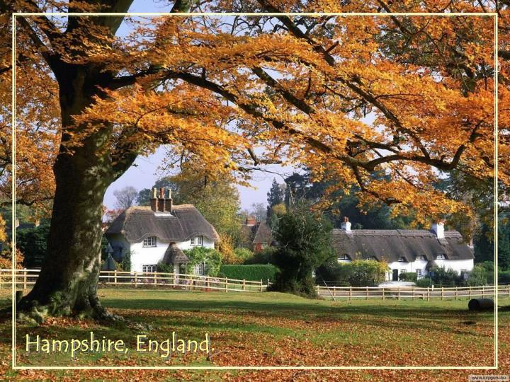 Hampshire, England.