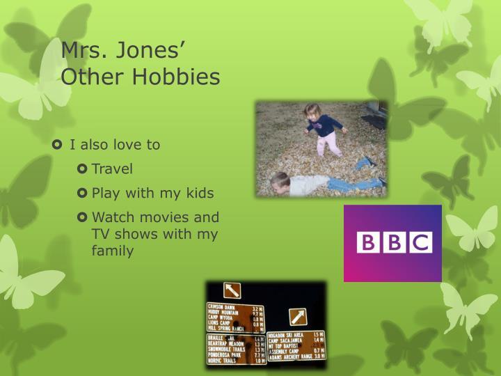 Mrs. Jones'