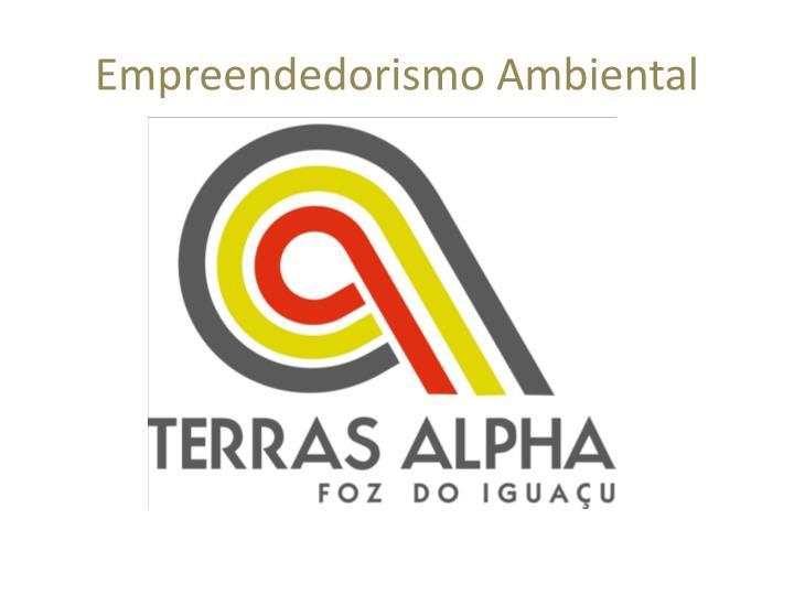 Empreendedorismo Ambiental