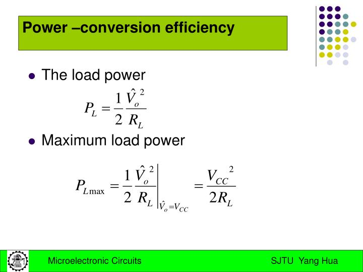 The load power