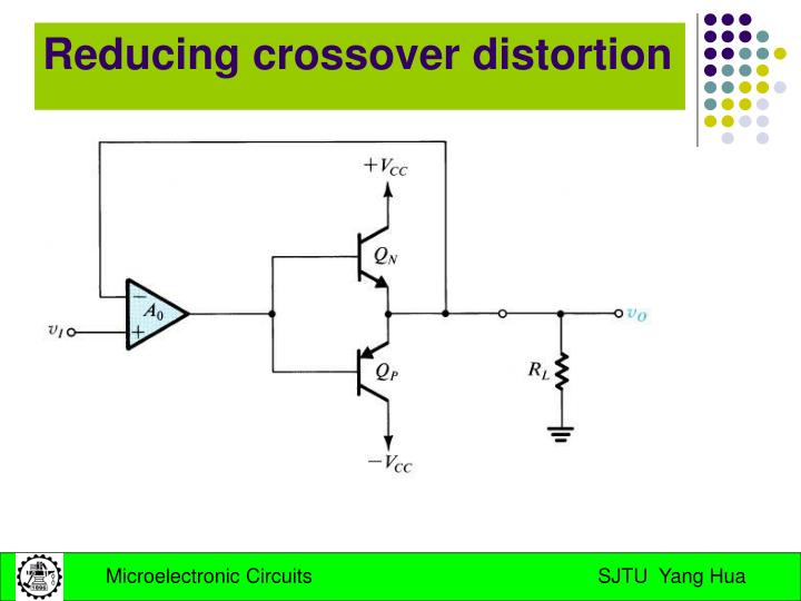 Reducing crossover distortion