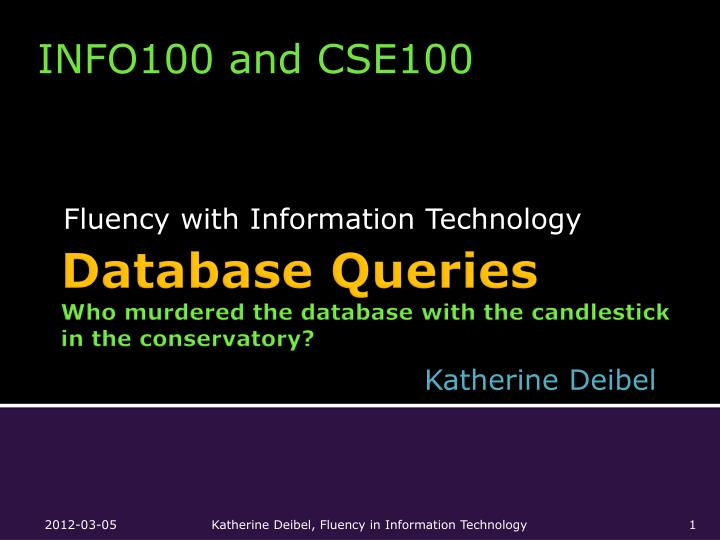 fluency with information technology n.