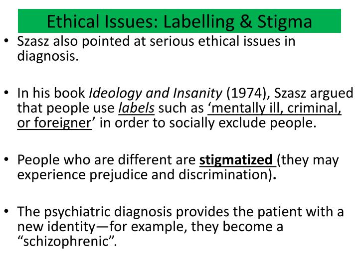 Ethical Issues: