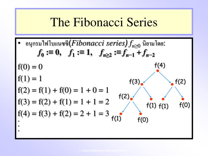 The Fibonacci Series