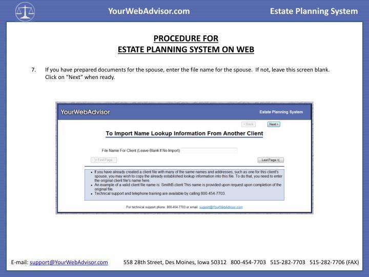 YourWebAdvisor.com
