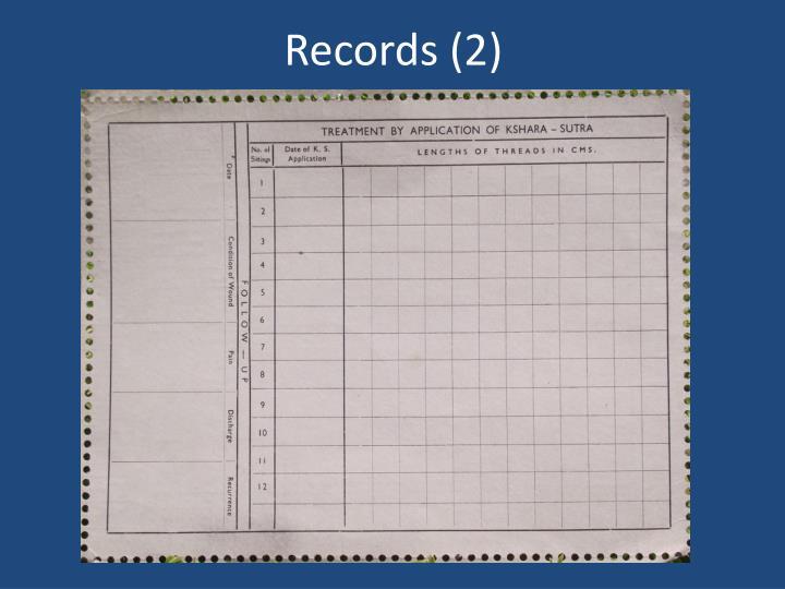 Records (2)