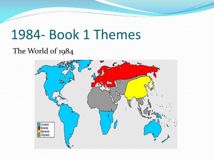 themes in 1984 Theme: statement (complete sentence) of a main idea of the literature it needs to be general enough to be relevant to us here and now but specific enough to still be supported by the work of literature.