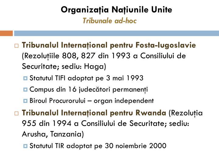 Organizaţia Naţiunile Unite