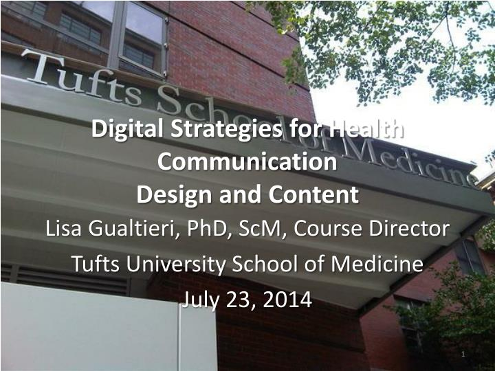 digital strategies for health communication design and content n.