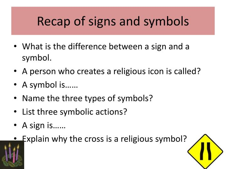 Ppt Signs And Symbols Powerpoint Presentation Id2917160