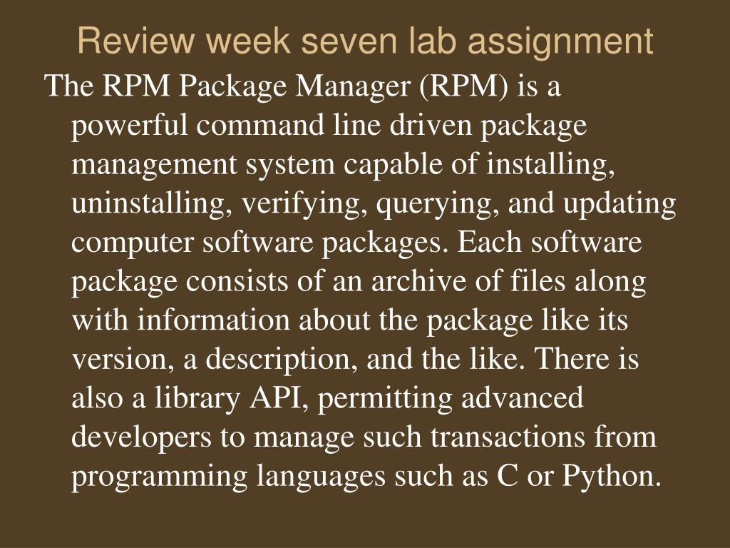 PPT - Week Eight Agenda PowerPoint Presentation - ID:2917438