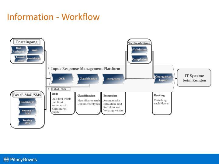 Information - Workflow