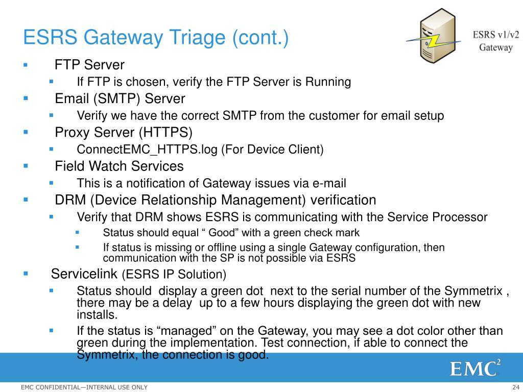 PPT - Symmetrix Connectivity Verification Level 2 PowerPoint