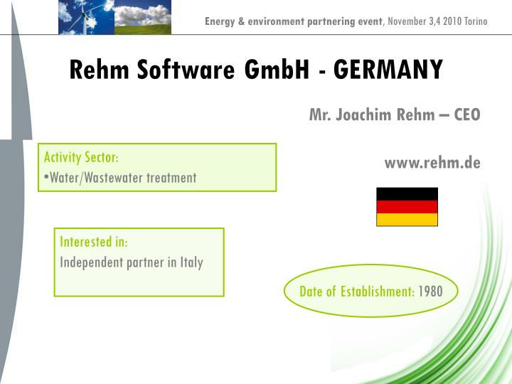 Rehm Software