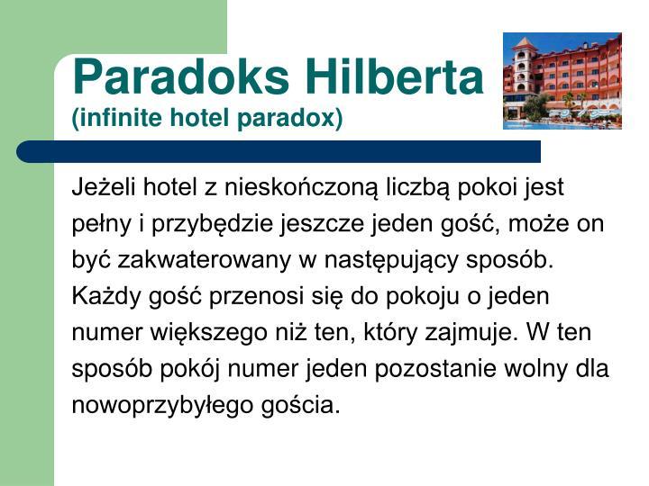 Paradoks Hilberta