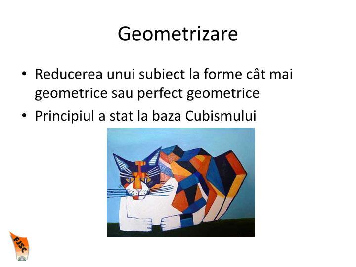Geometrizare