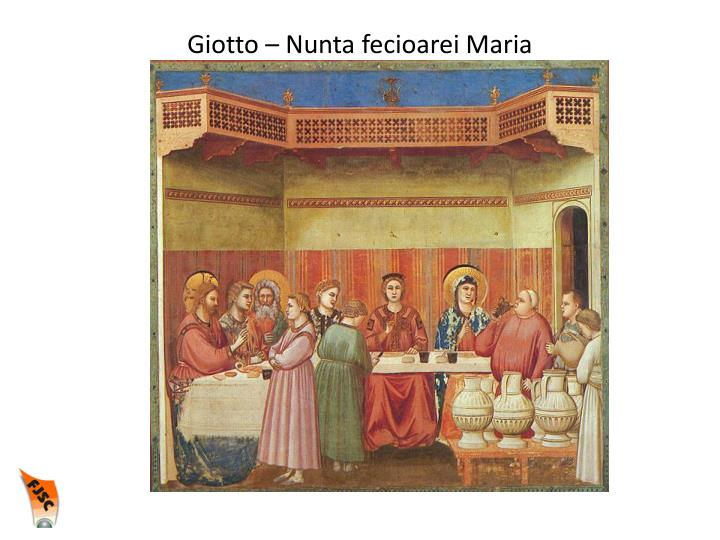 Giotto – Nunta fecioarei Maria