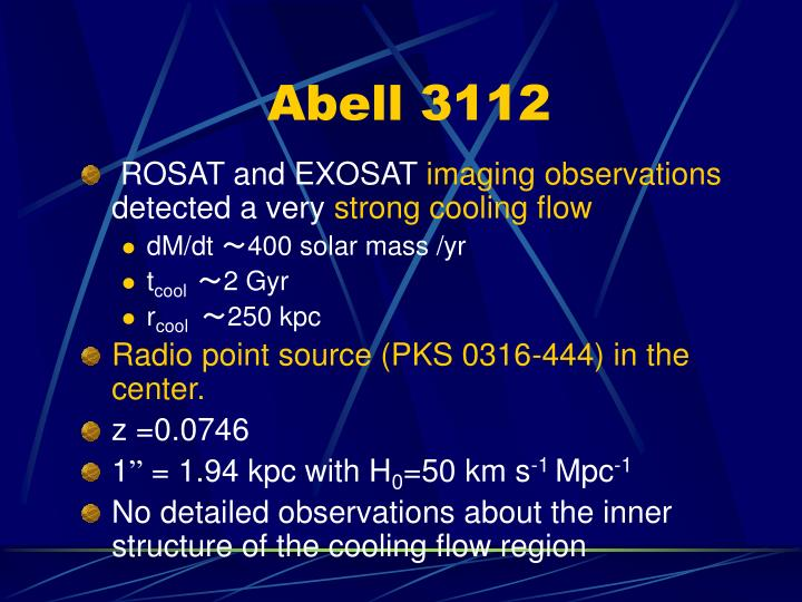 Abell 3112