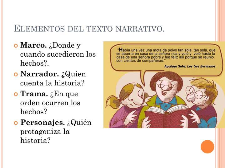 PPT - Texto Narrativo. PowerPoint Presentation - ID:2918189
