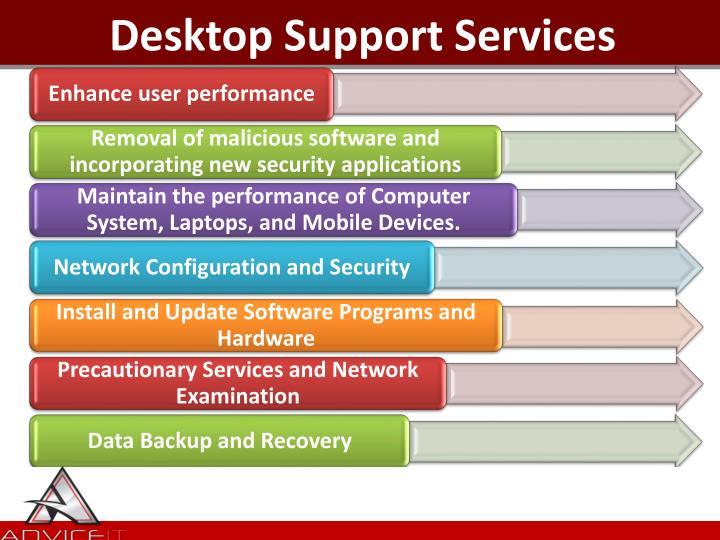 Desktop Support Services