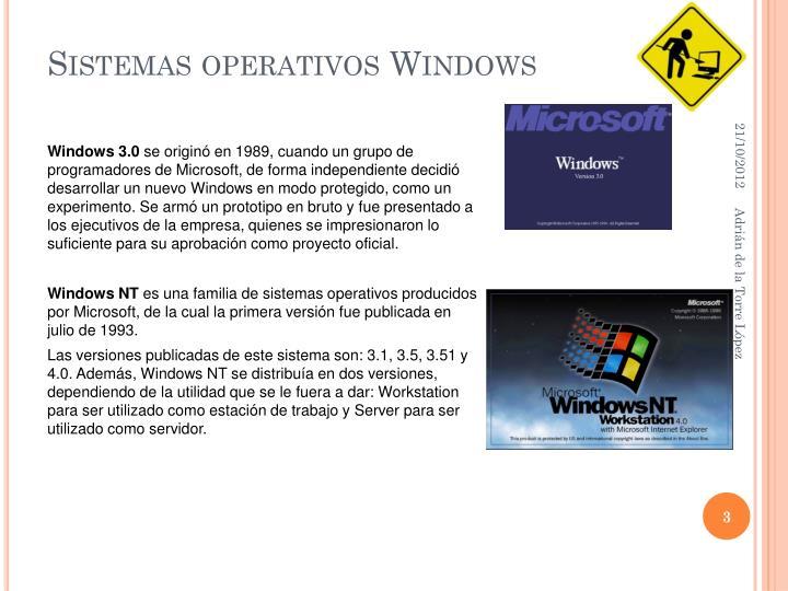 Sistemas operativos windows1