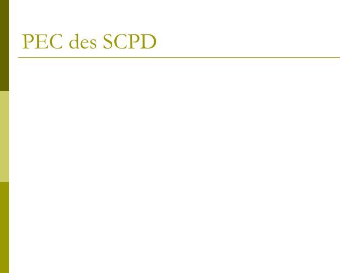PEC des SCPD