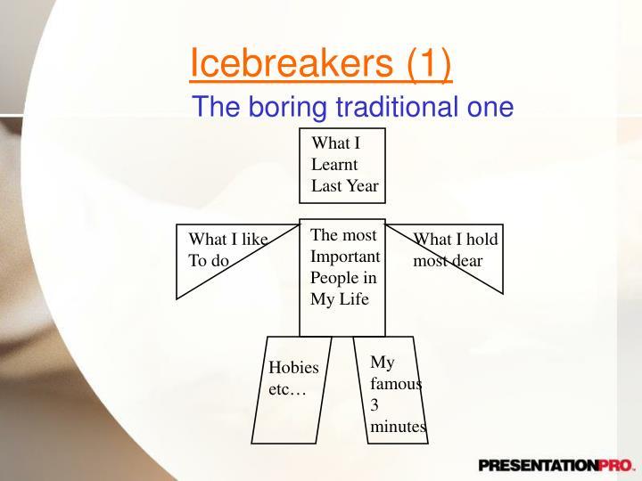 Icebreakers (1)