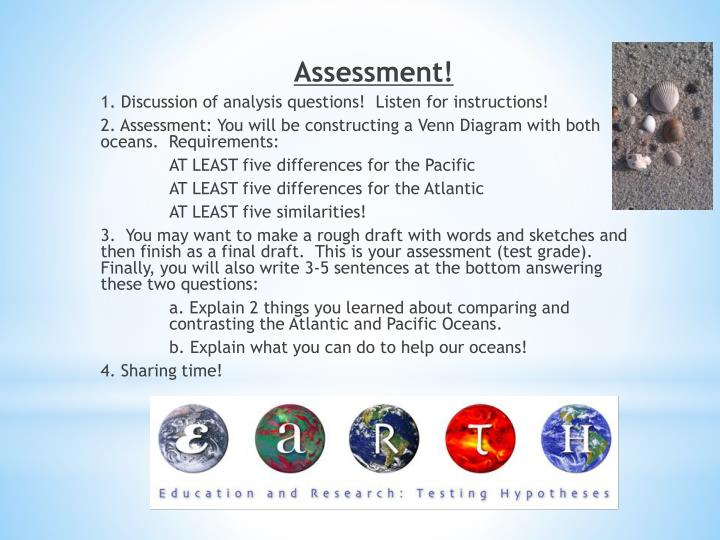 PPT - Atlantic Ocean vs. Pacific Ocean What do you know ...