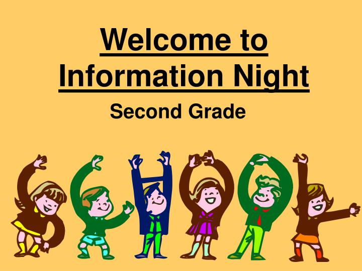welcome to information night n.