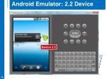 android emulator 2 2 device