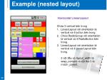 example nested layout3