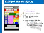 example nested layout4