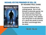 michael vey the prisoner of cell 25 by richard paul evans