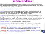 vertical gridding