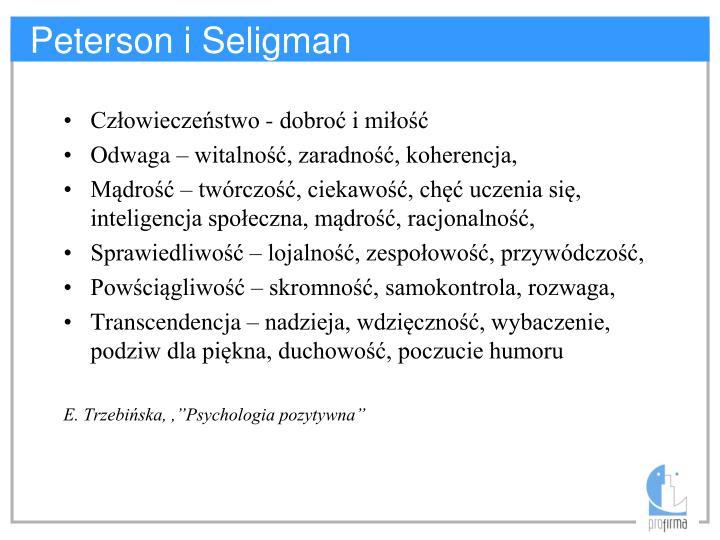 Peterson i Seligman