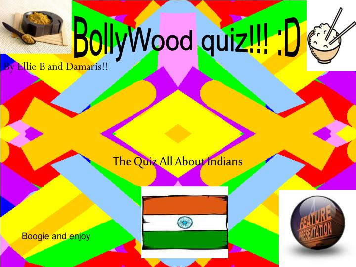 The quiz all about indians