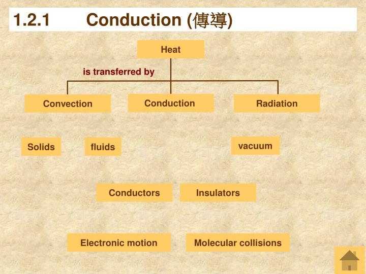 1 2 1 conduction
