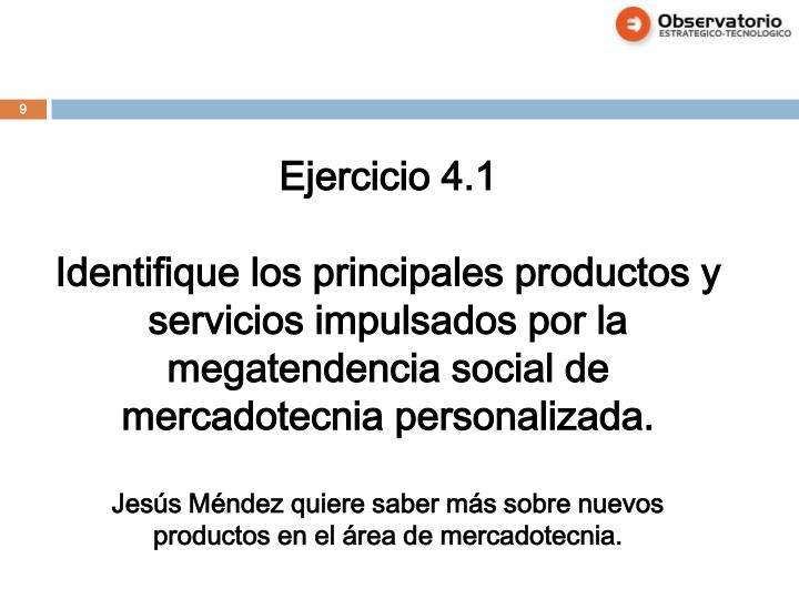 Ejercicio 4.1