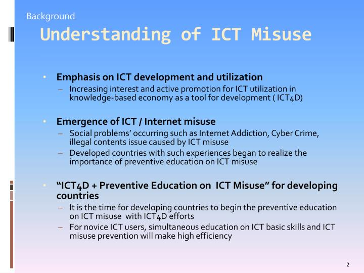 social problems caused by ict