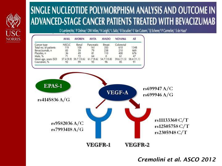 Cremolini et al. ASCO 2012