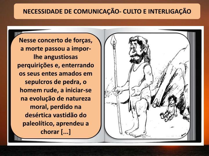 NECESSIDADE DE COMUNICA
