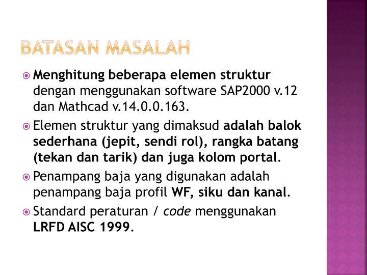 sap2000 manual ppt slides