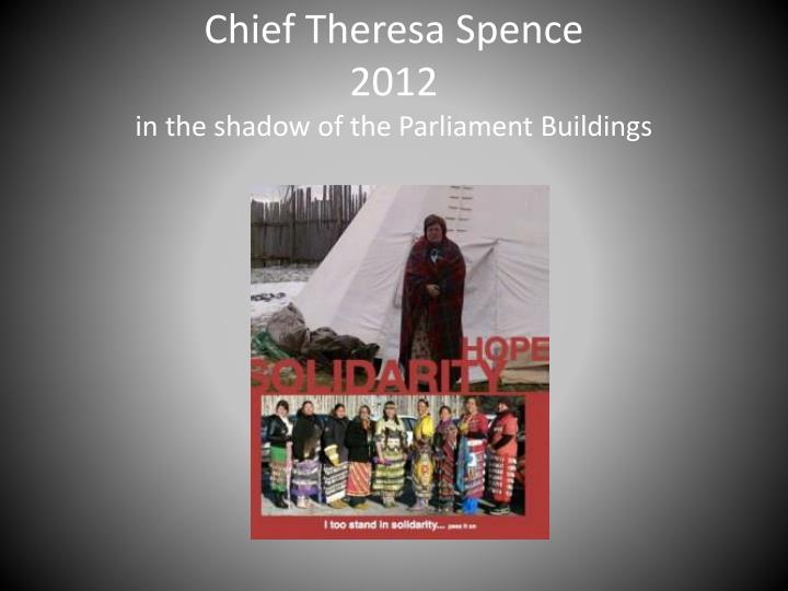 Chief Theresa Spence
