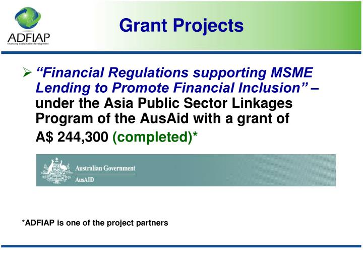 """""""Financial Regulations supporting MSME Lending to Promote Financial Inclusion"""" –"""