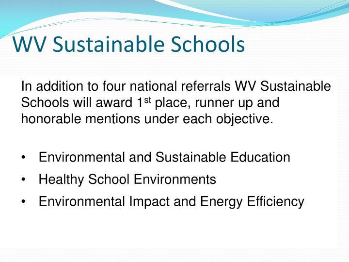 WV Sustainable Schools