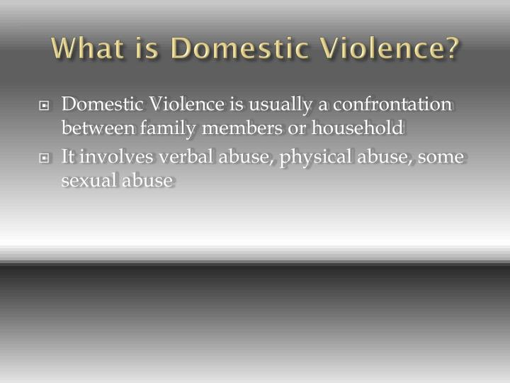domestic violence and abuse essay Abuse and domestic violence in australia today domestic violence is a significant social issue that has a major impact upon the health of women in society discuss this statement and identify the factors that may contribute to domestic violence domestic violence is known by many.
