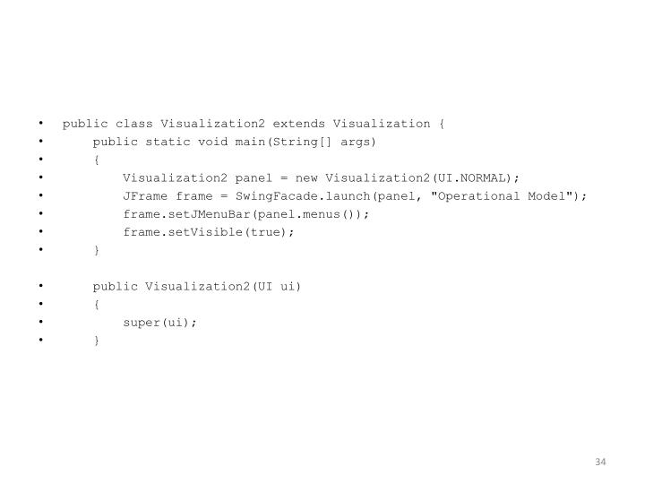 public class Visualization2 extends Visualization {