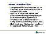 pratts junction site