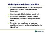 quinsigamond junction site