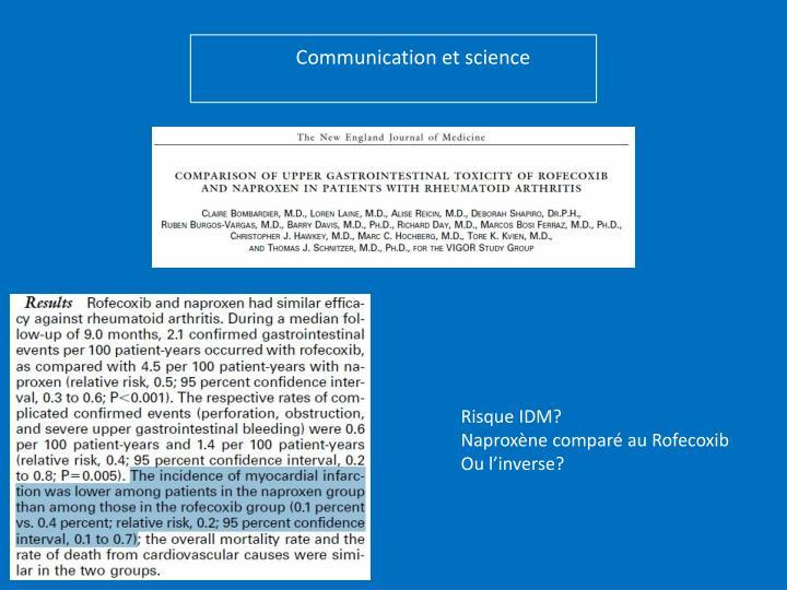 Communication et science